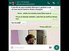 Namorada  gostosa botou gaia  no whatsapp