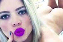 Loira gostosa Pamela Pantera em vídeo porno nacional fodendo sua buceta